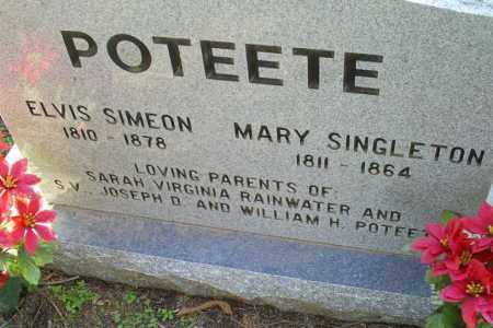 POTEETE, MARY - Conway County, Arkansas | MARY POTEETE - Arkansas Gravestone Photos