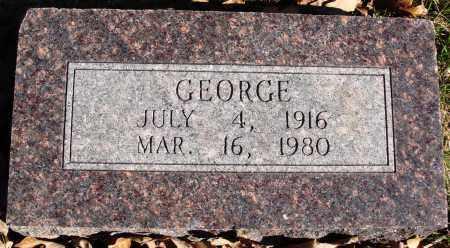 POTEETE, GEORGE - Conway County, Arkansas   GEORGE POTEETE - Arkansas Gravestone Photos