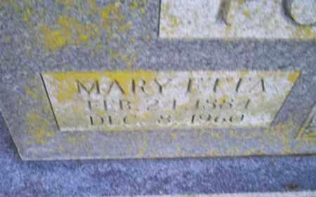 POTEETE, MARY ETTA - Conway County, Arkansas | MARY ETTA POTEETE - Arkansas Gravestone Photos