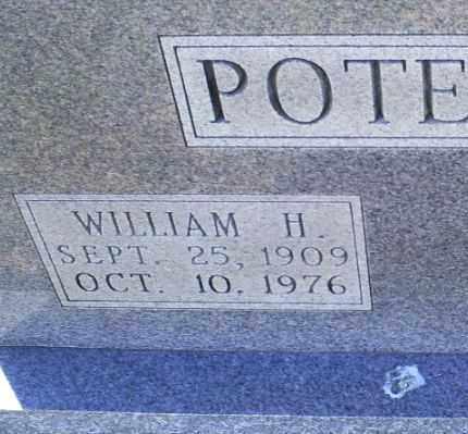 POTEETE, WILLIAM H. - Conway County, Arkansas | WILLIAM H. POTEETE - Arkansas Gravestone Photos