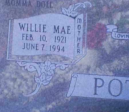 POTEETE, WILLIE MAE - Conway County, Arkansas | WILLIE MAE POTEETE - Arkansas Gravestone Photos