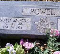 POWELL, ERNEST JACKSON - Conway County, Arkansas | ERNEST JACKSON POWELL - Arkansas Gravestone Photos