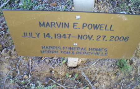 POWELL, MARVIN E. - Conway County, Arkansas   MARVIN E. POWELL - Arkansas Gravestone Photos