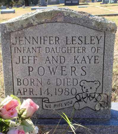 POWERS, JENNIFER LESLEY - Conway County, Arkansas   JENNIFER LESLEY POWERS - Arkansas Gravestone Photos