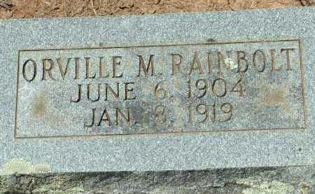 RAINBOLT, ORVILLE M. - Conway County, Arkansas   ORVILLE M. RAINBOLT - Arkansas Gravestone Photos