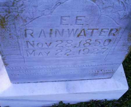 RAINWATER, E. E. - Conway County, Arkansas | E. E. RAINWATER - Arkansas Gravestone Photos