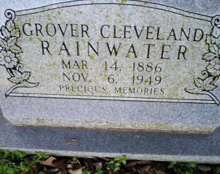 RAINWATER, GROVER CLEVELAND - Conway County, Arkansas | GROVER CLEVELAND RAINWATER - Arkansas Gravestone Photos