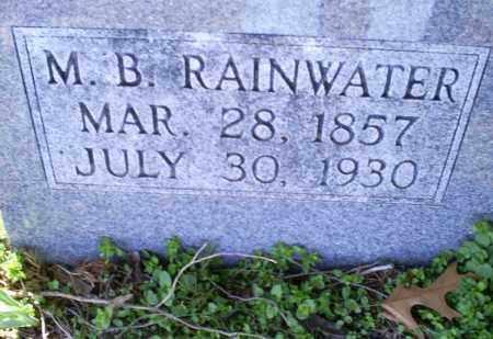 RAINWATER, M. B. - Conway County, Arkansas | M. B. RAINWATER - Arkansas Gravestone Photos
