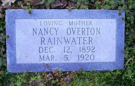 OVERTON RAINWATER, NANCY - Conway County, Arkansas | NANCY OVERTON RAINWATER - Arkansas Gravestone Photos