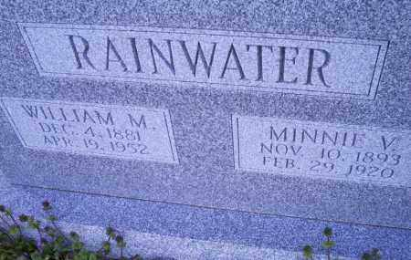 RAINWATER, MINNIE V. - Conway County, Arkansas   MINNIE V. RAINWATER - Arkansas Gravestone Photos