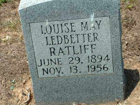RATLIFF, LOUISE MAY - Conway County, Arkansas | LOUISE MAY RATLIFF - Arkansas Gravestone Photos