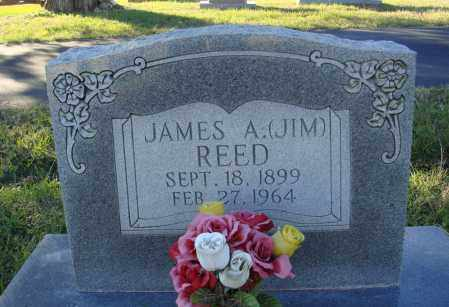 REED, JAMES A. (JIM) - Conway County, Arkansas | JAMES A. (JIM) REED - Arkansas Gravestone Photos