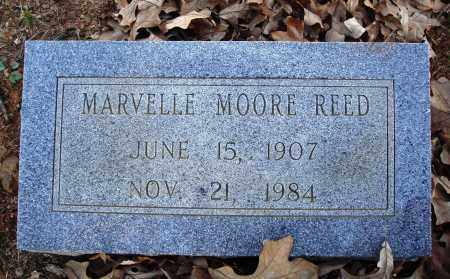 MOORE REED, MARVELLE - Conway County, Arkansas | MARVELLE MOORE REED - Arkansas Gravestone Photos