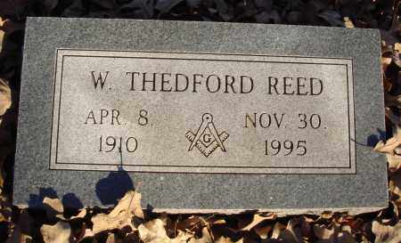REED, W. THEDFORD - Conway County, Arkansas | W. THEDFORD REED - Arkansas Gravestone Photos