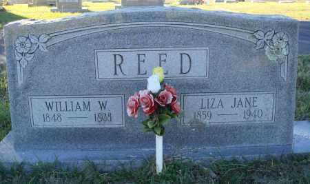 REED, LIZA JANE - Conway County, Arkansas | LIZA JANE REED - Arkansas Gravestone Photos