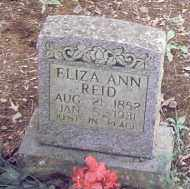 REID, ELIZA ANN - Conway County, Arkansas   ELIZA ANN REID - Arkansas Gravestone Photos