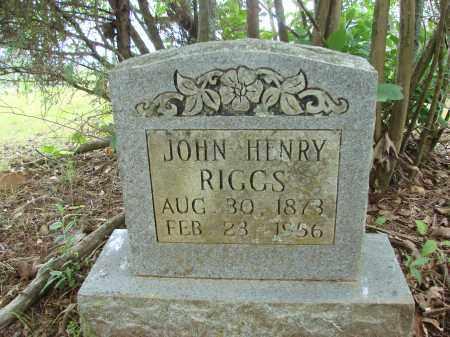 RIGGS, JOHN HENRY - Conway County, Arkansas   JOHN HENRY RIGGS - Arkansas Gravestone Photos