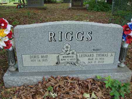 "RIGGS, JR., LEONARD THOMAS ""BUDDY"" - Conway County, Arkansas | LEONARD THOMAS ""BUDDY"" RIGGS, JR. - Arkansas Gravestone Photos"