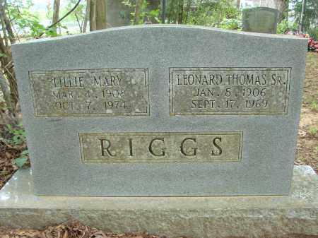 RIGGS, LILLIE MARY - Conway County, Arkansas | LILLIE MARY RIGGS - Arkansas Gravestone Photos