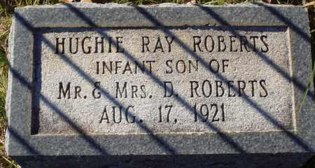 ROBERTS, HUGHIE RAY - Conway County, Arkansas   HUGHIE RAY ROBERTS - Arkansas Gravestone Photos