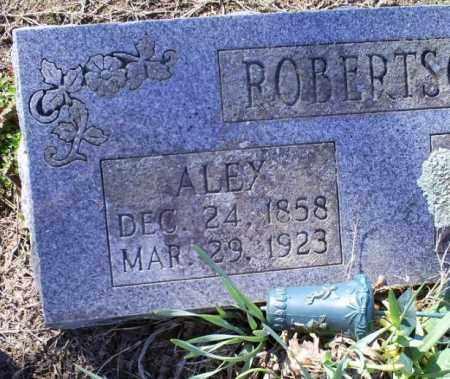 ROBERTSON, ALEY - Conway County, Arkansas   ALEY ROBERTSON - Arkansas Gravestone Photos