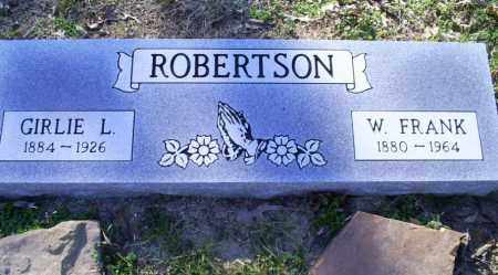 ROBERTSON, GIRLIE L. - Conway County, Arkansas | GIRLIE L. ROBERTSON - Arkansas Gravestone Photos