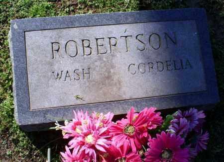 ROBERTSON, WASH - Conway County, Arkansas | WASH ROBERTSON - Arkansas Gravestone Photos