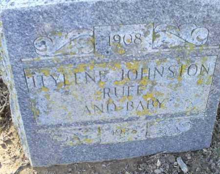 JOHNSON RUFF, ITYLENE - Conway County, Arkansas | ITYLENE JOHNSON RUFF - Arkansas Gravestone Photos