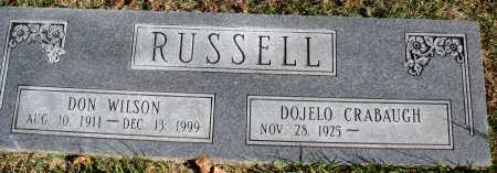 RUSSELL, DON WILSON - Conway County, Arkansas | DON WILSON RUSSELL - Arkansas Gravestone Photos