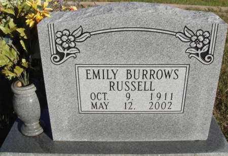 RUSSELL, EMILY - Conway County, Arkansas | EMILY RUSSELL - Arkansas Gravestone Photos
