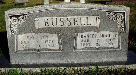 RUSSELL, FRANCES - Conway County, Arkansas | FRANCES RUSSELL - Arkansas Gravestone Photos