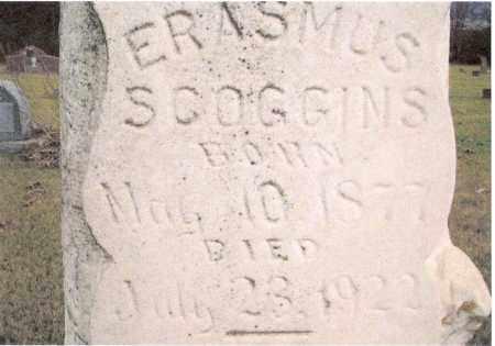 SCOGGINS, ERASMUS - Conway County, Arkansas | ERASMUS SCOGGINS - Arkansas Gravestone Photos