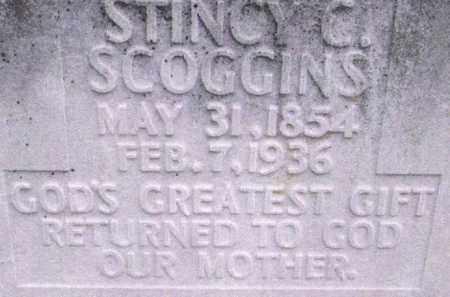SCOGGINS, STINCY C. - Conway County, Arkansas | STINCY C. SCOGGINS - Arkansas Gravestone Photos
