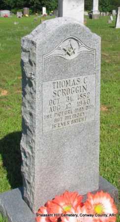 SCROGGIN, THOMAS C. - Conway County, Arkansas | THOMAS C. SCROGGIN - Arkansas Gravestone Photos