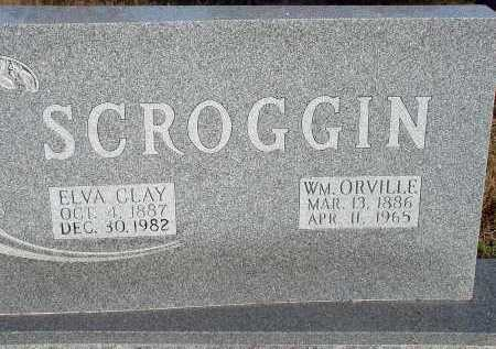 SCROGGIN, WILIIAM ORVILLE - Conway County, Arkansas   WILIIAM ORVILLE SCROGGIN - Arkansas Gravestone Photos
