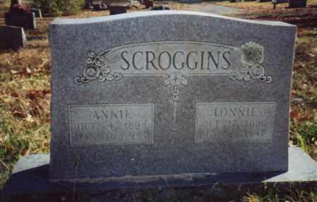 SCROGGINS, ANNIE - Conway County, Arkansas | ANNIE SCROGGINS - Arkansas Gravestone Photos