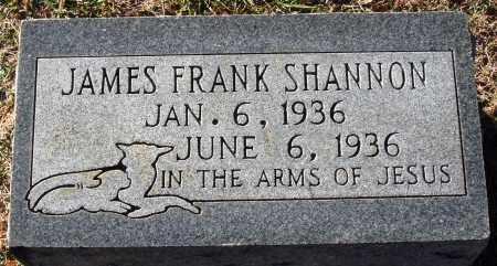 SHANNON, JAMES FRANK - Conway County, Arkansas   JAMES FRANK SHANNON - Arkansas Gravestone Photos