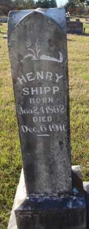 SHIPP, HENRY - Conway County, Arkansas | HENRY SHIPP - Arkansas Gravestone Photos