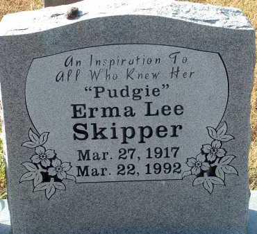 MCCLUNG SKIPPER, ERMA LEE - Conway County, Arkansas | ERMA LEE MCCLUNG SKIPPER - Arkansas Gravestone Photos