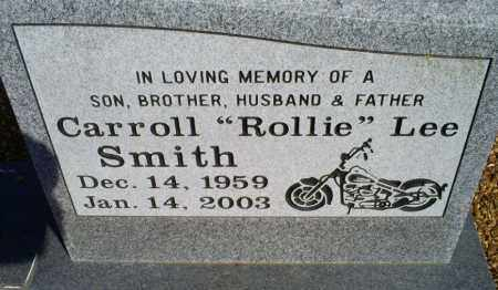 SMITH, CARROLL 'ROLLIE' LEE - Conway County, Arkansas | CARROLL 'ROLLIE' LEE SMITH - Arkansas Gravestone Photos