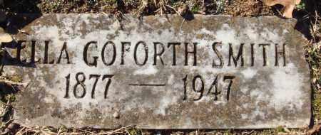GOFORTH SMITH, ELLA - Conway County, Arkansas   ELLA GOFORTH SMITH - Arkansas Gravestone Photos