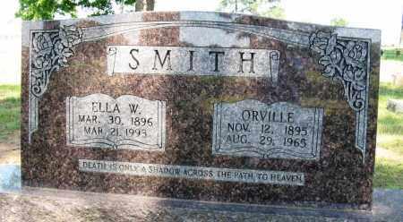 SMITH, ORVILLE - Conway County, Arkansas   ORVILLE SMITH - Arkansas Gravestone Photos