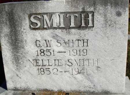 SMITH, G. W. - Conway County, Arkansas | G. W. SMITH - Arkansas Gravestone Photos