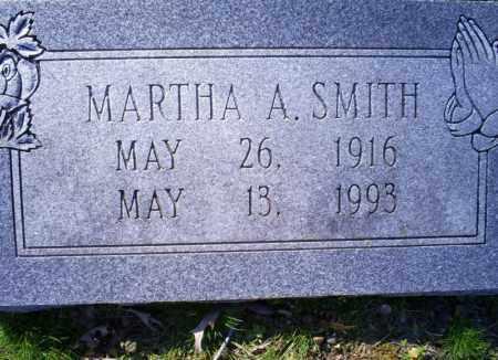 SMITH, MARTHA A. - Conway County, Arkansas | MARTHA A. SMITH - Arkansas Gravestone Photos
