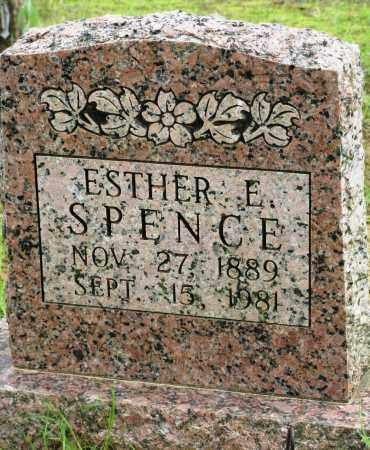 SPENCE, ESTHER E - Conway County, Arkansas | ESTHER E SPENCE - Arkansas Gravestone Photos