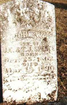 SPENCE, JOHN W. - Conway County, Arkansas | JOHN W. SPENCE - Arkansas Gravestone Photos