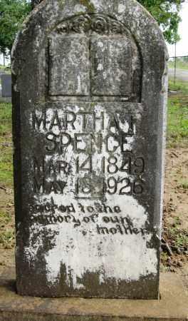 SPENCE, MARTHA F - Conway County, Arkansas   MARTHA F SPENCE - Arkansas Gravestone Photos
