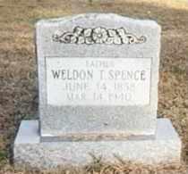 SPENCE, WELDON T - Conway County, Arkansas   WELDON T SPENCE - Arkansas Gravestone Photos