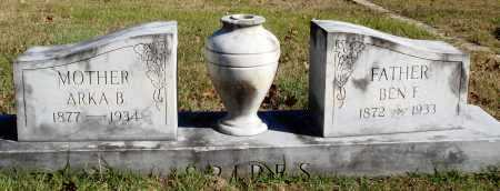 SPIRES, ARKA B. - Conway County, Arkansas | ARKA B. SPIRES - Arkansas Gravestone Photos