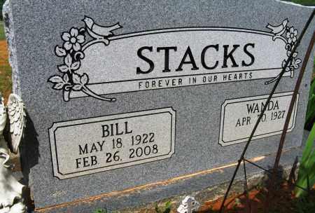 STACKS, BILL - Conway County, Arkansas | BILL STACKS - Arkansas Gravestone Photos